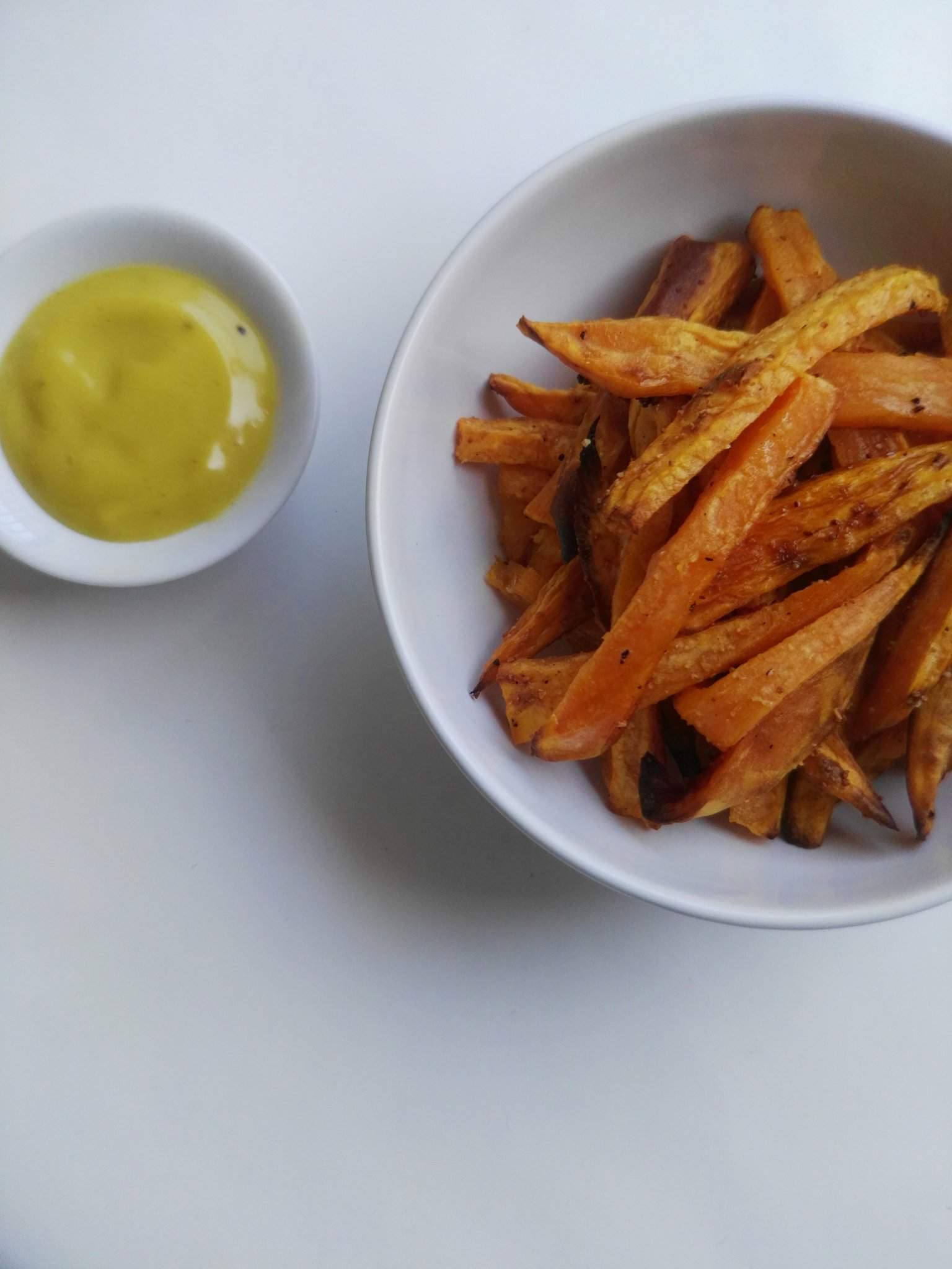 recette de frites de patates douces bon appetit le blog. Black Bedroom Furniture Sets. Home Design Ideas