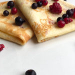 crêpe fruit rouge