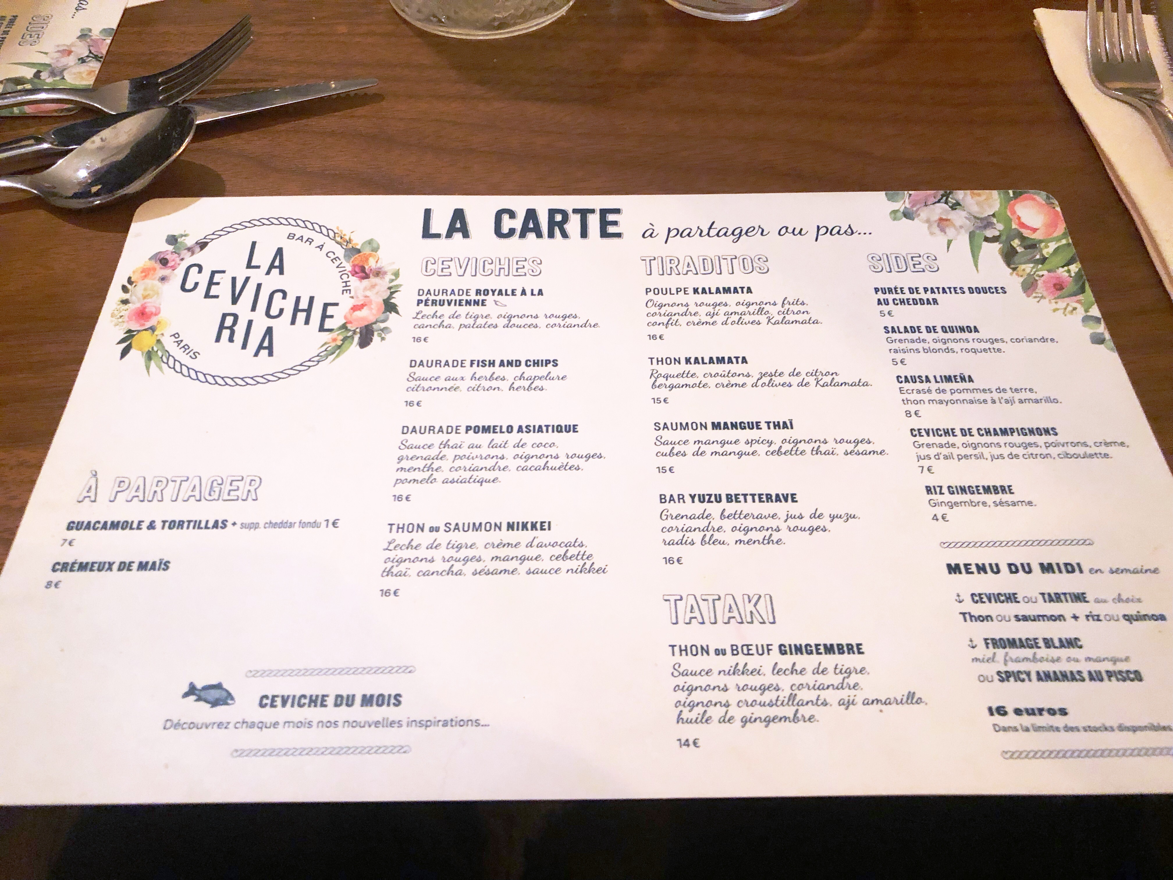 Restaurant La Cevicheria